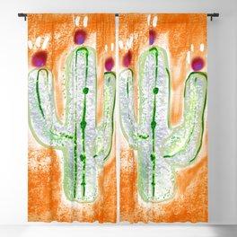 Bright Cactus  Blackout Curtain