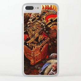 the king orc Clear iPhone Case