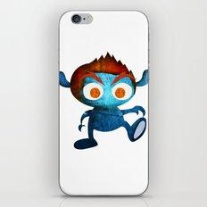 Mr. Blue iPhone Skin