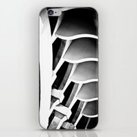 ford iPhone & iPod Skins featuring fractal ford by blumwurks