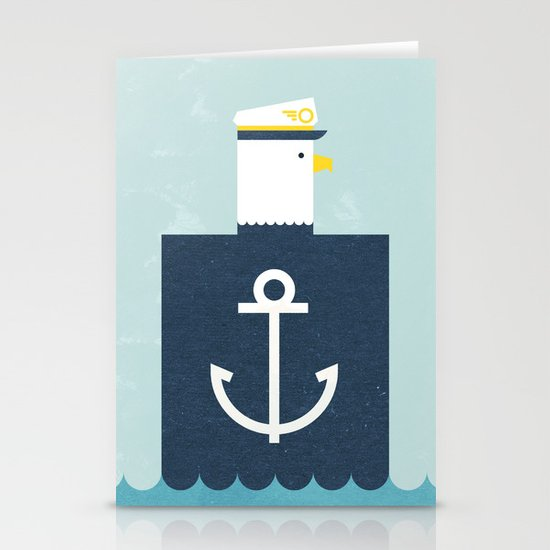 Eagle Captain Stationery Cards