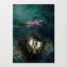 Encircles the world Canvas Print