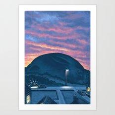 Rabbit Hill Art Print