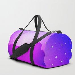 Purple Night Duffle Bag