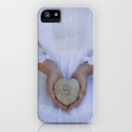 Heart of stone iPhone Case