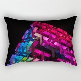 The Grid Rectangular Pillow