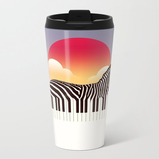 Zeyboard Metal Travel Mug