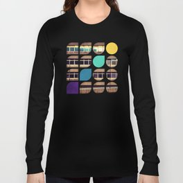 Cold Comfort Collage — Frontline Long Sleeve T-shirt