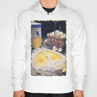 eggs Hoodies featuring Eggs by Richard McGee