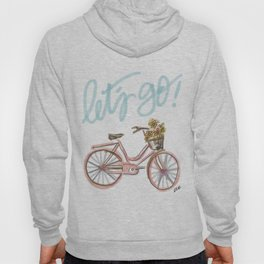 Let's Go! (vintage bike) Hoody