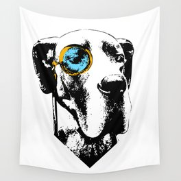 Eleven: Great Dane with a Monocle Wall Tapestry