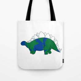 Earth Steggy Tote Bag