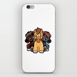 Just a girl who loves horses Horse Fan Riding Pony iPhone Skin