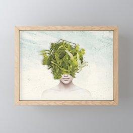 Lettuce Framed Mini Art Print