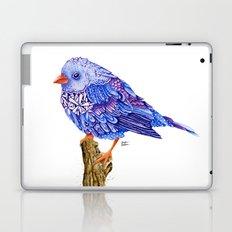 Flowerly Serene Sophia. Purple Edition Laptop & iPad Skin