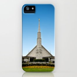 LDS Dallas Texas Temple iPhone Case