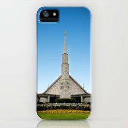 LDS Dallas Texas Temple iPhone Case