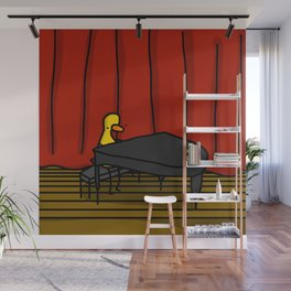 Ducky Pianist | Veronica Nagorny Wall Mural
