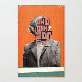 Cover Combine #13 Canvas Print