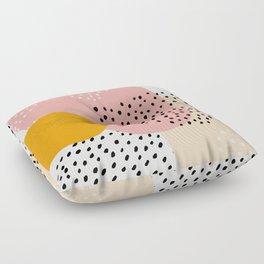 Abstract, Mid century modern kids wall art, Nursery room Floor Pillow