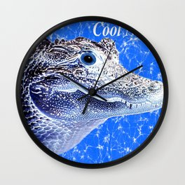 aligatore Wall Clock