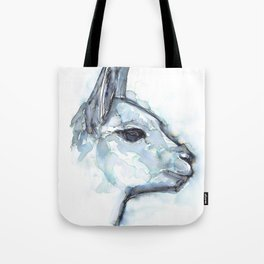 Vicuna Portrait Tote Bag