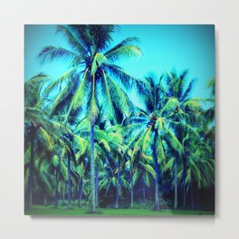 Palm Away With Me Metal Print