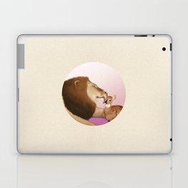 Lion Kiss a Deer Laptop & iPad Skin