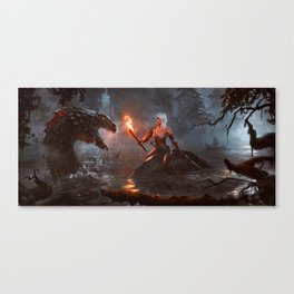 The Witcher Canvas Print