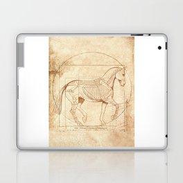 Da Vinci Horse In Piaffe Laptop & iPad Skin