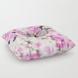 Parisian roses, Paris, super Jolie Floor Pillow