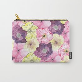 The Hellebores Carry-All Pouch