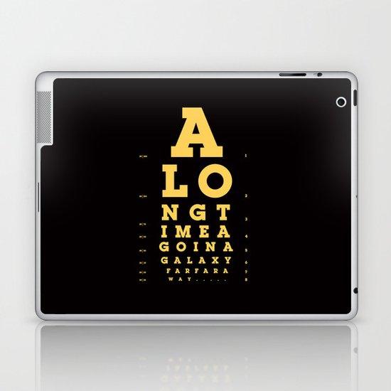 Jed Eye Chart Laptop & iPad Skin