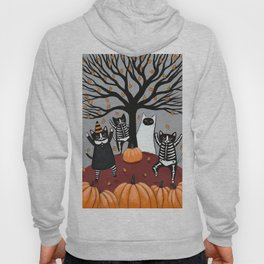 Cats Celebration of Halloween Hoody
