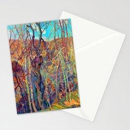 Franklin Carmichael Silvery Tangle Stationery Cards
