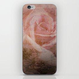 Antique Rose iPhone Skin
