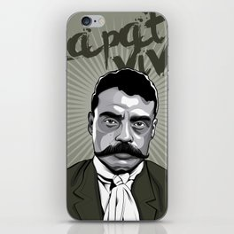 Emiliano Zapata - Trinchera Creativa iPhone Skin