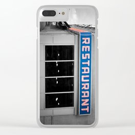 Toms Diner NYC Clear iPhone Case