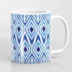 Ikat Blue Mug