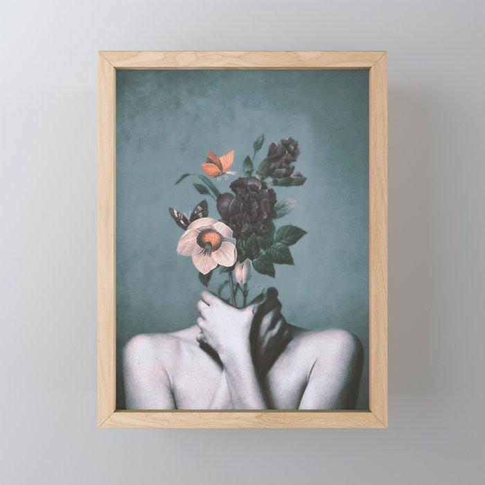 inner garden 3 Framed Mini Art Print
