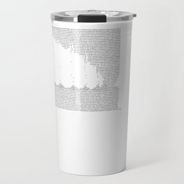 Erosion & Typography 3 Travel Mug
