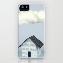 A cloud over the house iPhone Case