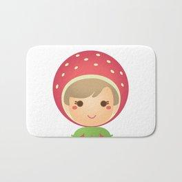 The Strawberry Gal Bath Mat