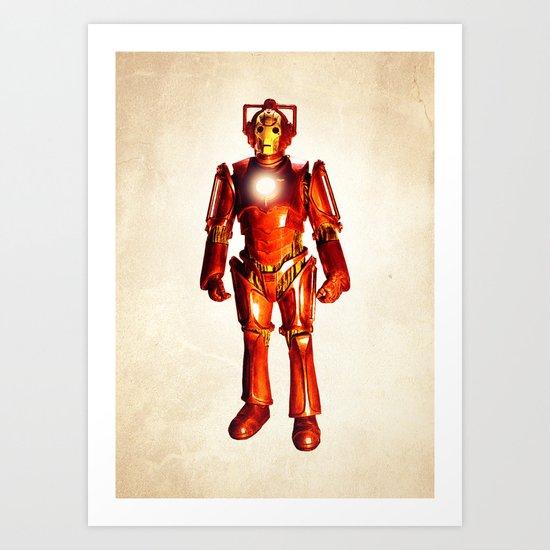 Cyber Stark Art Print