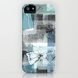Grunge print. Texture. iPhone Case