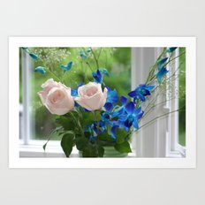 Mother's Day Flowers Art Print