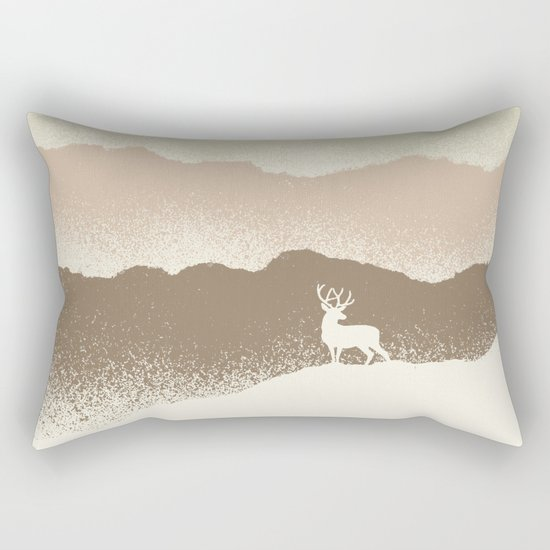 Quietude (II) Rectangular Pillow