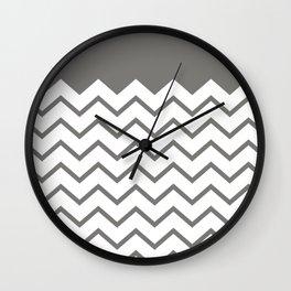 cheveron Wall Clock