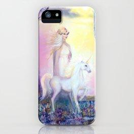 Princess and Unicorn iPhone Case