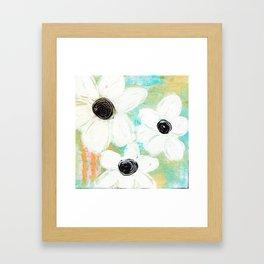 SPRING FLORAL Framed Art Print